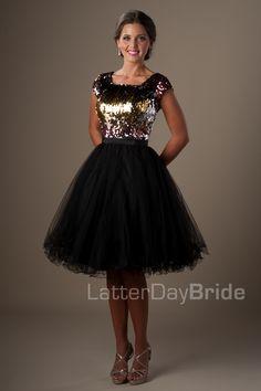 Modest Prom Dresses : Lindi