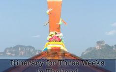 My Itinerary for Three Weeks in Thailand Statue Of Liberty, Thailand, Asia, Fair Grounds, Travel, Trips, Liberty Statue, Traveling, Tourism