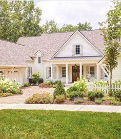 Farmhouse House Plans Modern Home Exterior Design 6 - elliahome
