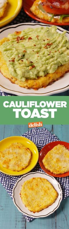 Cauliflower toast is the low-carb answer to all of your breakfast (and lunch) problems. Get the recipe on Delish.com.