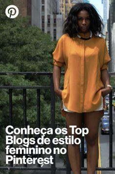 Confira os Top Blogs de Moda Feminina do Pinterest com as dicas de Modices, Depois dos Quize, Eu Capricho, Garotas Estúpidas, Steal the Look e outros :) Basic Style, My Style, Top Blogs, Office Looks, Tumblr Girls, Looks Cool, Dress Codes, Capsule Wardrobe, Bikini Girls