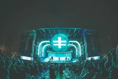 The CRSSD Festival highlights non-commercial electronic dance music.