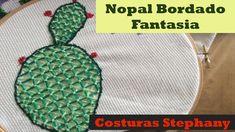 Bordado Fantasia Nopal Video Completo