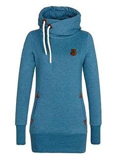 #Jenny Trinh Cute Hoodies Sweater Pullover Double Deer Geometric Printed