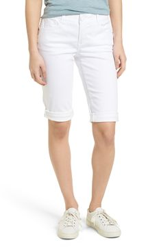 Shop a great selection of Wit & Wisdom Ab-solution White Bermuda Shorts (Nordstrom Exclusive). Find new offer and Similar products for Wit & Wisdom Ab-solution White Bermuda Shorts (Nordstrom Exclusive). Bermuda Shorts Outfit, Modest Shorts, Fit Flare Dress, Fit And Flare, Online Fashion, Nordstrom, Tweed Jacket, Stretch Denim, White Shorts