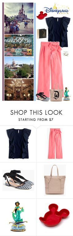 """""""A Trip To Disney"""" by fashionqueen76 ❤ liked on Polyvore featuring J.Crew, Chamilia, Disney, trip and disneyland"""