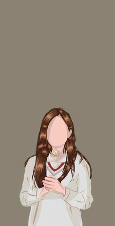 Cute Cartoon Drawings, Cartoon Art, Book Cover Background, Wattpad Book Covers, Graphic Wallpaper, Digital Art Girl, Book Cover Art, Portrait Illustration, Cute Cartoon Wallpapers