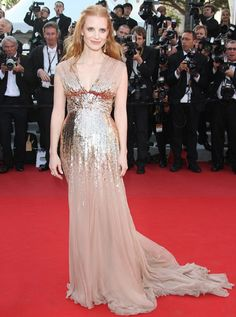jessica chastain, gucci, cannes