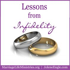 Day 24: Lessons from Infidelity.  *Unrealistic expectations will kill your marriage., *Your spouse will fail you., *Forgiveness is key.