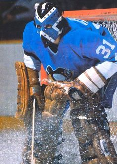 Vintage Goalie Mask Discussion Page :: Vintage Mask Gallery! :: Nice Plasse with Pittsburgh Hockey Shot, Ice Hockey Teams, Hockey Goalie, Hockey Games, Sports Teams, Penguins Players, Pittsburgh Sports, Nhl Pittsburgh Penguins, Canada Hockey