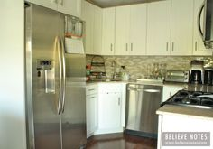 Light and Bright Tiny Kitchen Remodel