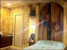 Harry Potter Themed Bedroom                                                                                                                                                     More
