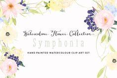 Watercolour Flower Clip Art -