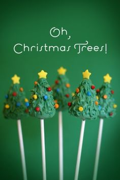 Oh, Christmas Tree Cake Pops! by TNBrat