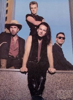 U2 Wow the early days