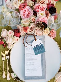 La Tavola Fine Linen Rental: Velvet Curry with Velvet Grey Napkins | Photography: Erich McVey, Styling: Hilary Rushford, Florals: East Olivia, Venue: Four Seasons Cap Ferrat, Paper Goods: Stephanie B