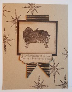Stamping up - first christmad