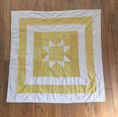 Beautiful Natural Hand Dyed Quilt by LavenderFern on Etsy