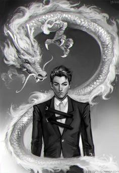Dragon!Kris by midnighttofu