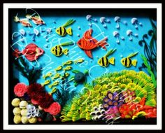 My Quilled Seascape on Behance