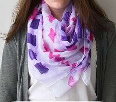 Stamped Scarf - Craft Teen