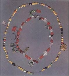 Very nice high resolution set of Viking bead necklaces  Viking Ornamentation: Treasure Necklace   Virginia Watson - Academia.edu