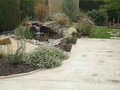 Rebeyrol créateur de jardins, aménagement de jardin limoges, bassin, lame d'eau