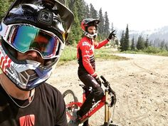 """4,362 Likes, 11 Comments - Gee Atherton (@gee_atherton) on Instagram: """"Laps today with the main man @dan_atherton #cantstop #gopro"""""""
