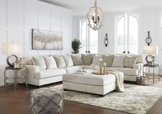 """ASHLEY Furniture """"Rawcliffe"""" Contemporary Sectional – Essence Home Decor Room Design, Sectional Living Room Layout, Living Room Decor, Furniture, Simple Living Room, Living Room Decor Tips, Living Room Sets, Livingroom Layout, Living Room Designs"""