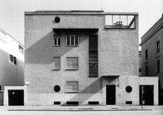 gio ponti - casa laporte, via benedetto brin 12, milano, 1935-36