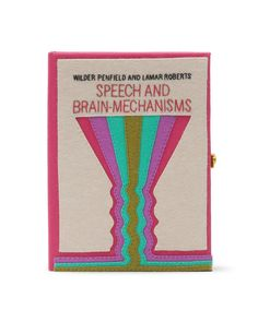 #olympialetan Speech and Brain-Mechanisms Clutch £905 Olympia Le Tan for COUTURELAB