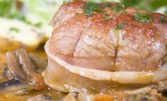 Paupiettes de dinde aux champignons -