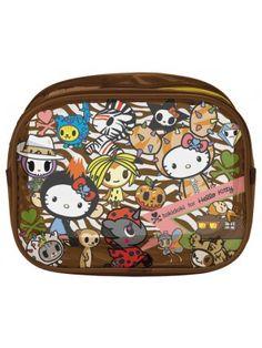 tokidoki x Hello Kitty Safari Vinyl Pouch