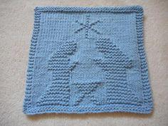 Nativity Dishcloth | Craftsy