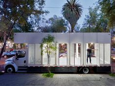 The A47 Mobile Library in Mexico is a Modern Take on Archaic R...
