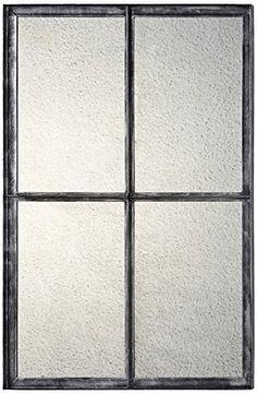 Aspen Mirror in Aged Black Finish *** Visit the image link more details.