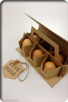 Egg packaging - 31 MindBlowing Examples of Brilliant Packaging Design – Egg packaging Egg Packaging, Clever Packaging, Pretty Packaging, Brand Packaging, Design Packaging, Packaging Ideas, Recyclable Packaging, Innovative Packaging, Protective Packaging
