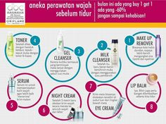 Perawatan sebelum tidur My Beauty, Beauty Care, Beauty Makeup, Hair Beauty, Oriflame Business, Combination Skin Care, Cleanser, Eyeliner, Make Up