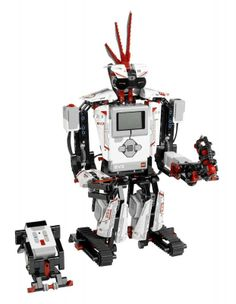 LEGO Mindstorm EV3: a serious robot, not just a building toy. Insanely cool.