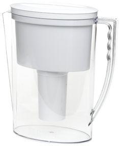 Brita 42629 Slim Pitcher, Pure Water Filtration System Filter, 40 oz ounces, NEW Brita Water Filter, Water Filter Pitcher, Water Filters, Ion Exchange Resin, Countertop Water Filter, Best Water Bottle, Bottled Water, Water Bottles, Water Coolers