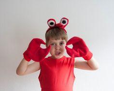 Accessoires - Crab Augen-Stirnband , Kinder oder Erwachsene Krab - ein…