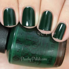 OPI Christmas Gone Plaid | Holiday 2014 Gwen Stefani Collection | MY NEW FAVORITE COLOR EVER