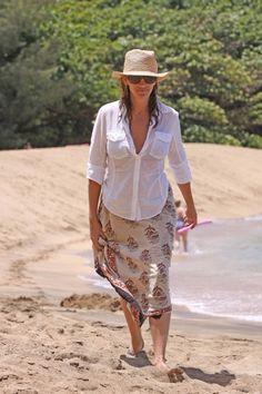 Julia Roberts in Hawaii