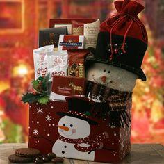 Holly Jolly Chocolate Christmas Gift Basket