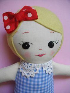 Blonde Handmade Ragdoll Adorable handmade by PalookaHandmade