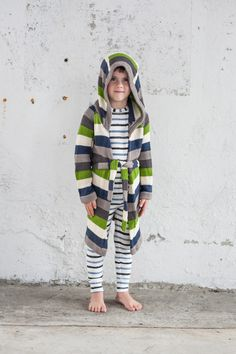 The CUTEST knit robes. A collaboration between Toto Knits + g.nancy. Made from organic cotton and bio-friendly dyes. Made by a group of single mothers in Kenya, whose mission is to encourage trade, not aid, to empower Kenyan women while using earth and ch