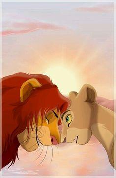 Le roi lion. WD.