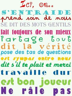 I am re learning my French! French Teacher, Teaching French, Classroom Organization, Classroom Management, Classroom Rules, French Education, Kids Education, Core French, French Classroom