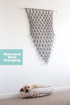 Join in Spotlight's National Craft Month with my online tutorial to create a stunning Make it Yourself Macrame Wall Hanging for your home, videos included.