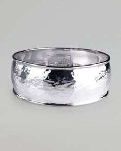 Hammered Silver Goddess Bangle by Ippolita at Neiman Marcus.